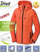 Ветровка Crivit  Damen Trekking Outdoor Jacket